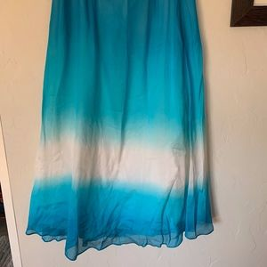 Silk skirt from White House Black Market